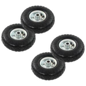 Pood24 pakikäru rattad, 4 tk, kumm 4,10/3,50–4 (260 x 83)