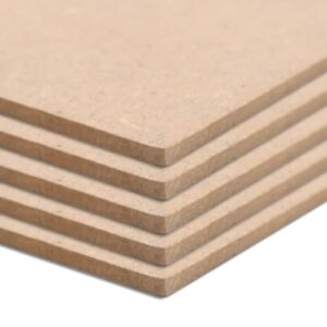 Pood24 MDF-plaat 10 tk ristkülikukujuline 120 x 60 cm 2,5 mm