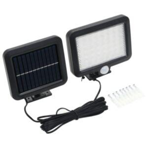 Pood24 päikesepatareidega valgusti liikumisanduriga, LED-tuled, valge