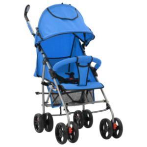 Pood24 kaks ühes kokkupandav lapsevanker/jalutuskäru, sinine, teras