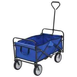 Pood24 kokkupandav käsikäru, teras, sinine