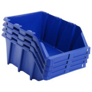 Pood24 virnastatavad hoiukastid 35 tk 218 x 360 x 156 mm, sinine