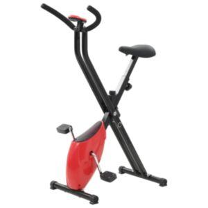 Pood24 veloergomeeter X-Bike rihmaga vastupanu, punane