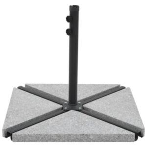Pood24 vihmavarju raskusplaat, graniit, 15 kg, kandiline, hall