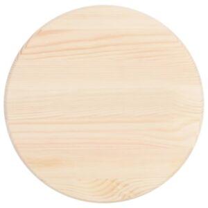 Pood24 lauaplaat ümmargune männipuust 25 mm 40 cm