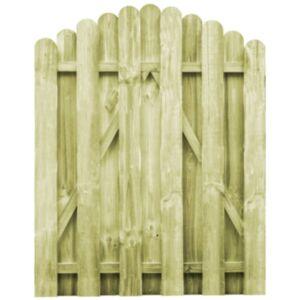 Pood24 aiavärav, immutatud männipuit, 100 x 125 cm
