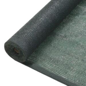 Pood24 privaatsusvõrk HDPE 1 x 10 m roheline