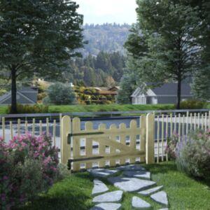 Pood24 aiavärav, immutusega männipuit, 100 x 60 cm