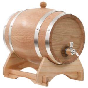 Pood24 veinivaat kraaniga, tammepuit, 6 l