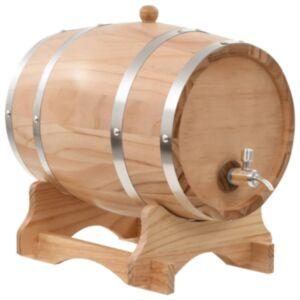 Pood24 veinivaat kraaniga, männipuit, 12 l
