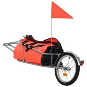 Pood24 jalgratta pakihaagis kotiga, oranž ja must