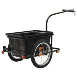 Pood24 jalgratta pakihaagis must 50 l