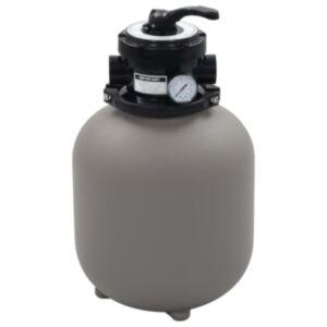 Pood24 basseini liivafilter 4 asendis ventiiliga hall 350 mm