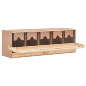 Pood24 kana pesakast 5 sektsiooniga, 117 x 33 x 38 cm, männipuit