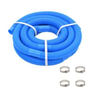 Pood24 basseinivoolik klambritega 38 mm 6 m sinine