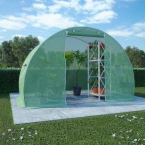 Pood24 kasvuhoone terasest vundamendiga 4,5 m² 300 x 150 x 200 cm