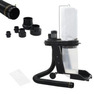 Pood24 tolmukoguja ja adapteri komplekt, must, 550 W