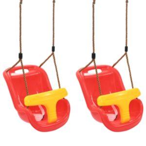 Pood24 beebikiiged, 2 tk, turvavööga, PP, punane