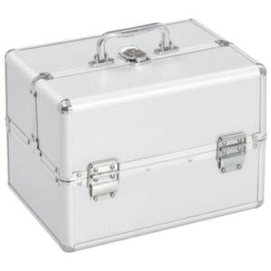 Pood24 jumestuskohver, 22 x 30 x 21 cm, hõbedane, alumiinium