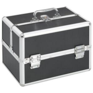 Pood24 jumestuskohver, 22 x 30 x 21 cm, must, alumiinium