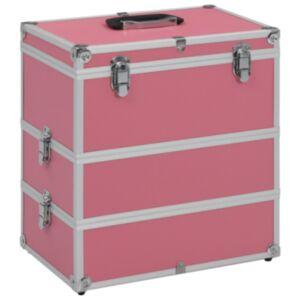 Pood24 jumestuskohver, 37 x 24 x 40 cm, roosa, alumiinium