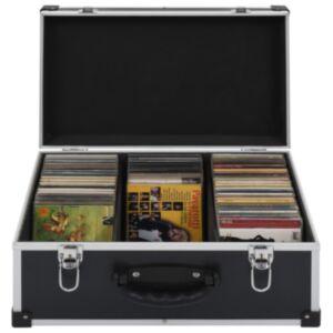 Pood24 CD-kohver 60 CD jaoks, alumiinium, ABS, must