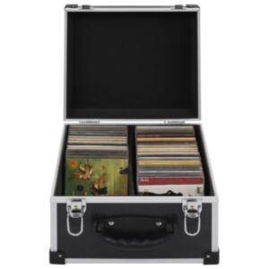 Pood24 CD-kohver 40 CD jaoks, alumiinium, ABS, must