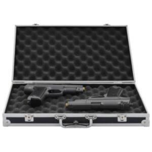 Pood24 relvakohver, alumiinium, ABS, must
