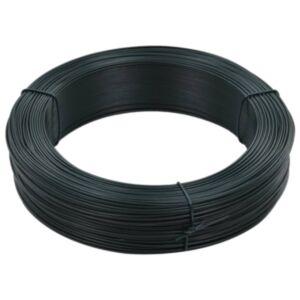 Pood24 võrkaia traat 250 m 0,9/1,4 mm, terasest, mustjasroheline