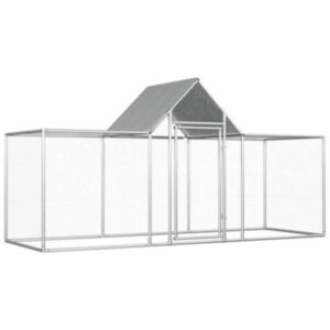 Pood24 kanakuut, 3 x 1 x 1,5 m, tsingitud teras