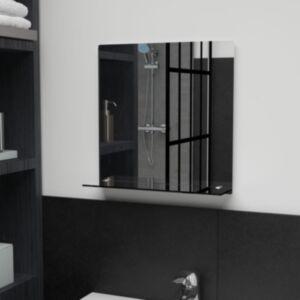 Pood24 seinapeegel riiuliga, 40 x 40 cm, karastatud klaasist