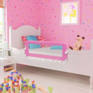 Pood24 voodipiire väikelapse voodile, roosa, 120 x 42 cm, polüester