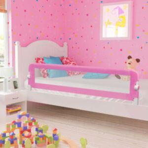 Pood24 voodipiire väikelapse voodile, roosa, 180 x 42 cm, polüester