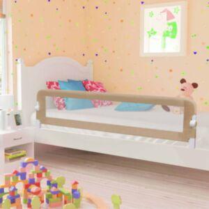 Pood24 voodipiire väikelapse voodile pruunikashall 180x42 cm polüester
