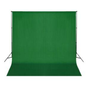 Pood24 puuvillane taust, roheline, 300 x 300 cm, taustprojektsiooniks