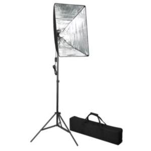 Stuudiovalgusti + valgusti kate 60 x 40 cm