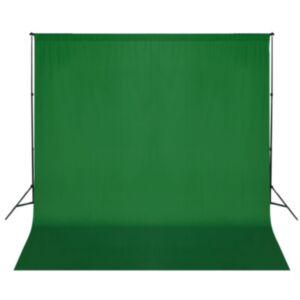 Pood24 tausta tugisüsteem, 600 x 300 cm, roheline