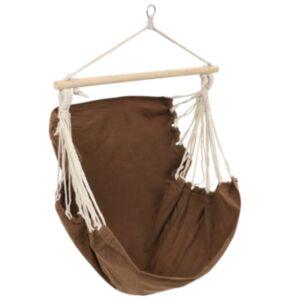 Võrkkiik-tool pruun, suure kangaga