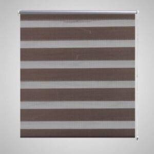 Triibuline ruloo 50 x 100 cm kohvipruun