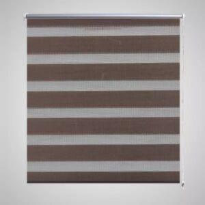 Triibuline ruloo 70 x 120 cm kohvivärvi