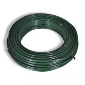 Pood24 võrkaia traat 55 m 2,1/3,1 mm, terasest, roheline