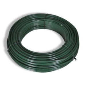 Pood24 võrkaia traat 80 m 2,1/3,1 mm, terasest, roheline