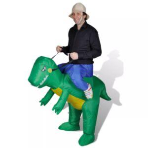 Täispuhutav dinosauruse kostüüm