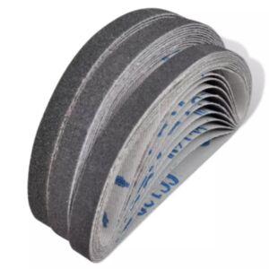 Suruõhupressiga pneumaatilised lihvimislindid 30 tk, 10 x tera 60, 10 x tera 80, 10 x tera 120, 10 mm x 330 mm