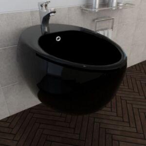 Seinale kinnitatav bidee keraamiline must
