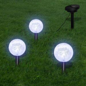 Pood24 valguspallid, 3 LED-aiatuld maavaiade ja päikesepaneeliga