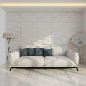 3D seinapaneelid laine disainiga 0,625 x 0,8 m 12 tk 6 m²