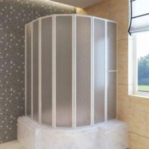 Duši/vannisein 7 paneeli kokkupandav 140 x 168 cm