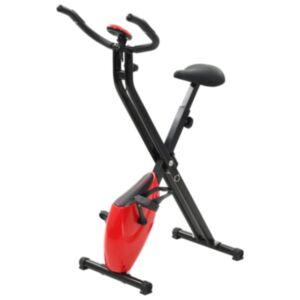 Pood24 magnetiga treeningratas X-Bike pulsi mõõtmisega, must ja punane