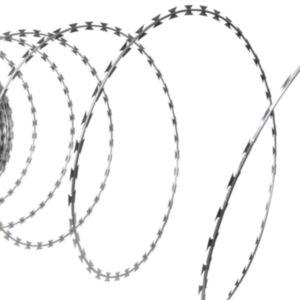 NATO okastraat spiraalne rull tsingitud terasest 100 m